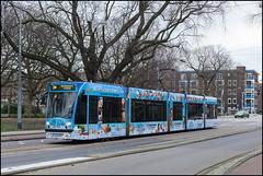 2095 Frederik Hendrikplantsoen (Martijn Schurink) Tags: amsterdam tram gvb gvbamsterdam