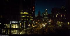 Rue Peel, Montréal (alex.bernard) Tags: canada architecture night canon landscape cityscape montréal québec tamron nuit peelstreet citylight tamron2470 ruepeel canon5diii