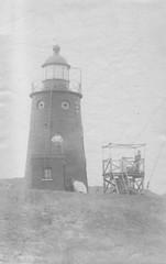 Vlieland - vuurtoren - 1901 (Dirk Bruin) Tags: lighthouse vlieland toren 1900 1910 phare vuurtoren 1920 leuchtturm steen 1909 boven gietijzer vuurboet torenduin vuurtorenduin