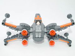 Poe's T-70 X-Wing (jonathanwhudson) Tags: star force xwing wars base resistance the t70 awakens dqar