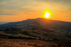 Sunstorm in Val Di Cecina (Edoardo Angelucci) Tags: sunset sun green zeiss landscape photography golden sony hills exposition hour tuscany alpha toscana hdr sunstorm edoardo angelucci sel55f18 ilce7m2 geo:lat=43387590 geo:lon=10913163