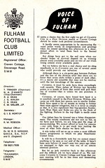 Fulham vs Coventry City - 1968 - Page 3 (The Sky Strikers) Tags: city one football official cottage division coventry fulham craven shilling league programme