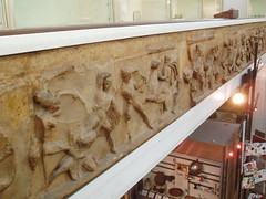 Cast of Mausoleum of Halicarnassus Frieze (Aidan McRae Thomson) Tags: sculpture museum greek birmingham ancient artgallery frieze relief mausoleum cast classical westmidlands bmag halicarnassus