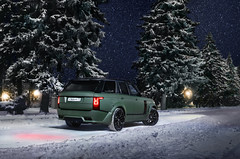 Voque Lumma (Ivan_Orlov) Tags: auto city winter color green cars car night canon photography photo russia ivan clr rover exotic vogue turbo r land autos tuning range exclusive matte lumma carspotting carphoto orlov autogespot carlifestyle instagram carswithoutlimits carinstagram carsthatyoulike