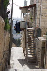 A Narrow Path in the Muslim Quarter, Jerusalem (marylea) Tags: israel alley path jerusalem may13 muslimquarter mountofolives 2015 narrowpath