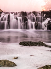 "The life cycle of ""Snow"" (Milan Photo) Tags: snow water gardens melting rocks falls fujifilm edwards xt1 52weekproject xf1855mm fujifilmxt1"