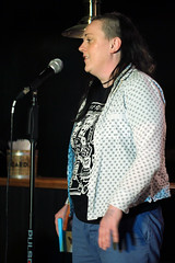 Lucy Thompson: Comedy & Cocktails Feb 2016 (copyrightsplashphotography) Tags: music crazy comedy audience performance comedian microphone mic performers performer act acts midlands participation comedians manhattan34 comedyandcocktails