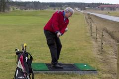 Midwinter in Sweden (Steffe) Tags: sweden haninge golfer matte sterhaninge haningegk rstagolf