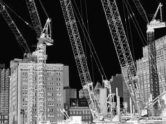 A Crane Falls in New York (Al Perrette) Tags: alperrette