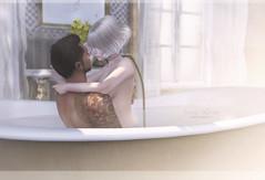 { Breathe } (Trinetty Skytower) Tags: love home digital photography bath couple moments avatar sensual sl together secondlife virtual dutchie
