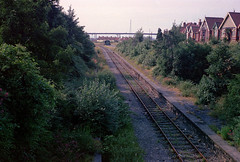 Pill station (1), 1977 (Blue-pelican-railway) Tags: film station bristol closed railway somerset pill beeching
