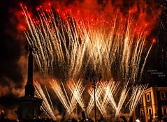 Fireworks... (Peppis) Tags: night nikon nightlights nightshot fireworks sicily catania sicilia nationalgeographic fuochidartificio folclore santagata nightimage peppis festadisagata eventidafotografare nikond7000 nikonclubit