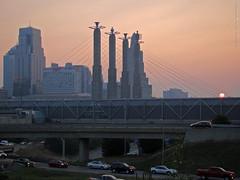 Sunrise in Kansas City, 31 Aug 2015 (photography.by.ROEVER) Tags: city morning summer skyline sunrise haze august kansascity missouri kansas kc hazy kcmo 2015 hazyday citydowntown hazymorning downtowndowntown kcdowntown skylinekansas august2015 loopskylinekc
