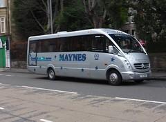 YSU 999 (Cammies Transport Photography) Tags: road england bus mercedes benz scotland coach edinburgh rugby v minibus specials 999 corstorphine ysu maynes ysu999