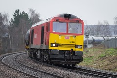 60001 Lincoln (deltic17) Tags: train railway db class lincolnshire lincoln tug freight 60 tanker ews railfreight dbshenker