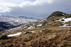 Grasmere (coffee_ruth) Tags: winter england sky cloud mountain lake snow mountains ice clouds rural skyscape walking landscape landscapes scenery view britain hiking snowy walk district sony hill lakes hike hills fells vista icy fell a5000 mirrorless