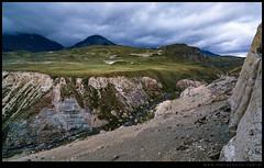 Majestuosa cordillera patagonica
