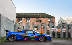 Blue & Red. (Alex Penfold) Tags: blue red cars alex car super mclaren autos supercar p1 supercars penfold 2016 mso