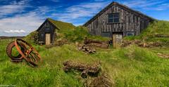 Hnausar (holger.torp) Tags: building architecture outdoor torfbær meðalland hnausar