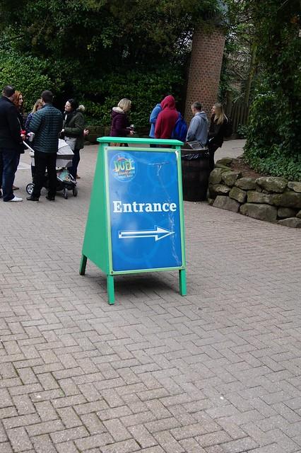 Duel - Entrance Sign