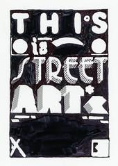 Letraset positive for #thisisstreetart #letraset #sharpie (Miss Mini Graff) Tags: poster screenprint drawing posters positive positives letraset separations urbancontext thisisstreetart