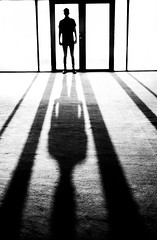 COLDEST ON RECORD (Aaron Anfinson) Tags: leica blackandwhite shadows m abstractportrait