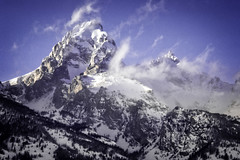 Grand Tetons in Winter (markcherrington) Tags: winter snow mountains landscape rockies wyoming grandtetons