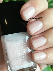 Chanel Ballerina (purple yellow) Tags: ballerina nail polish chanel 167