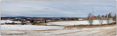 Panorama - Klfta #2 (Krogen) Tags: panorama norway norge norwegen akershus romerike krogen ullensaker klfta olympusthough4