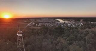 Okeechobee Music & Arts Festival 2016 Aerial shot