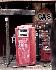 How Cool is This (tommynphotography2) Tags: ranch barn antique gas gasstation gaspump oldtime oldgasstations