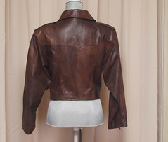 Brown Leather Biker Jacket (vintage-13) Tags: 1920s ladies brown classic leather modern vintage dark real costume 1930s kid 60s soft forsale chocolate military side wwii womens retro worldwarii 1940s jacket mocha rocker 80s 1950s motorcycle 70s biker cropped medium 50s 1960s etsy satin boho bomber zips unisex reenactment sleek 1990s 90s 30s pockets leathers greaser zipped 40s longsleeve worldwar1 20s steampunk lined fitted zippered epaulets geniune vintagebylyzzie gloveleather florencesleather