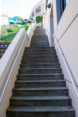 Parnassus Steps (jerimiah1martinez) Tags: sf sanfrancisco green campus climb exercise memories steps hike medical stepping dreams bayarea february ucsf height meaning parnassus medicalcenter universityofcalifornia 2016 viewfrombelow