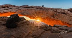 Morning at Mesa (Travis Klingler (SivArt)) Tags: sunrise canyonlandsnationalpark legacy sunstar mesaarch