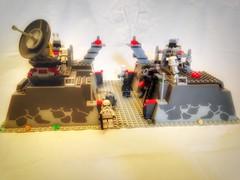 Lego Star Wars Moc: Imperial Bunker (oli.jger) Tags: starwars lego bunker stormtrooper imperial vase base moc sandtrooper shocktrooper