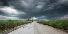The storm is brewing. Road to ruins. (PhotosThroughMyEyes) Tags: road storm rain clouds ruins bacolod silay negros occidental bestcapturesaoi elitegalleryaoi tilasay
