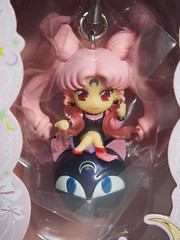 Black Lady + Luna-P (sh0pi) Tags: moon 3 toy candy twinkle charm sailor dolly bandai bishoujo senshi blacklady lunap