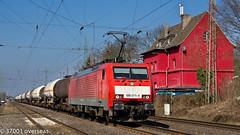DB 189 071 on EZ 45717 to Gremberg (37001 overseas) Tags: db ez deutschebahn ratingen gremberg kijfhoek dbschenker 189071 45717 1890714 ratingenlintorf