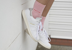 Jess (Cameron Oates [IG: ccameronoates]) Tags: street urban garter girl fashion socks photography outfit shoes style smith skirt lingerie sneakers wear clothes originals stan tennis sneaker kicks adidas fila streetwear outfitters streetstyle unif womenswear subtype