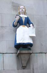 Coram girl (Simon_K) Tags: london church st christopher churches andrew holborn wren