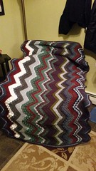 Allison Peters (The Crochet Crowd) Tags: game stitch right blanket afghan throw crochetblanket thecrochetcrowd stitchisright