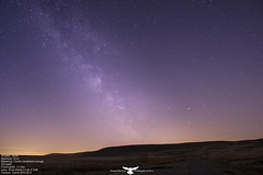Brynmawr Milkyway (Thomas Winstone) Tags: uk longexposure sky moon wales night canon stars star long exposure tripod breconbeacons planet milkyway canon1635f28 canonuk 3leggedthing canon1dx