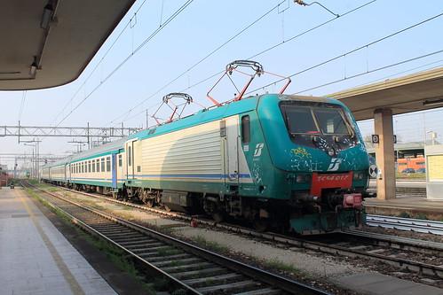 In stazione a Ferrara