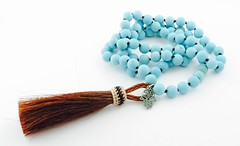 Boho Chic Hand Knotted Tassel Necklace (Keep up to date with Via Vay Jewelry Designs on Fl) Tags: necklace handmade bohochic beadednecklace knottednecklace tribaljewelry bohemianjewelry bohofashion cowgirlnecklace hamsanecklace