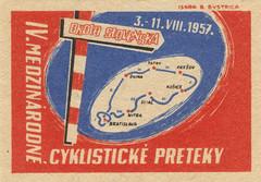 czechoslovakian matchbox label (maraid) Tags: sign czech map label 1950s 1957 packaging signpost matchbox czechoslovakia czechoslovakian