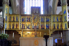 St Mary Magdalen Church, Newark on Trent (Goolio60) Tags: church altar newark nottinghamshire reredos comper