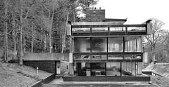 Peter Womersley:  Bernat Klein Studio (JamesRKC) Tags: blackandwhite bw architecture scotland klein lightroom blancetnoir scottishborders niksoftware womersley silverefex kleinstudio