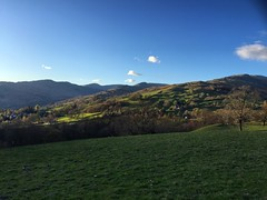 Green Hills Above Ambleside (Marc Sayce) Tags: park lake green district hills national cumbria pike ambleside wansfell