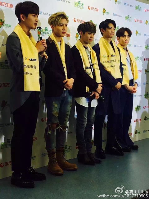 160328 ‎SHINee @ '23rd East Billboard Music Awards' 26099779066_5478347c8e_z