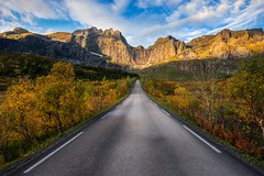 Road with a View (Marco Battini) Tags: road autumn light mountains norway soft filter lee 06 lofoten graduated gnd